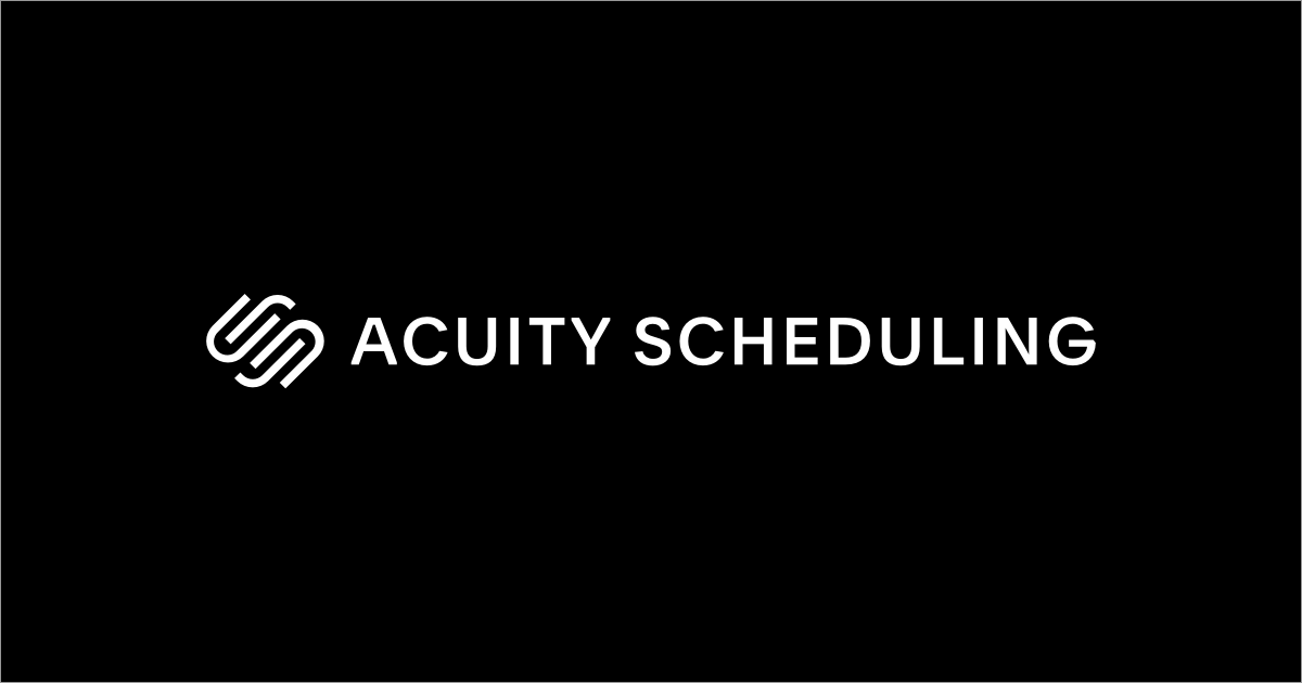 Acuity Online Appointment Scheduling